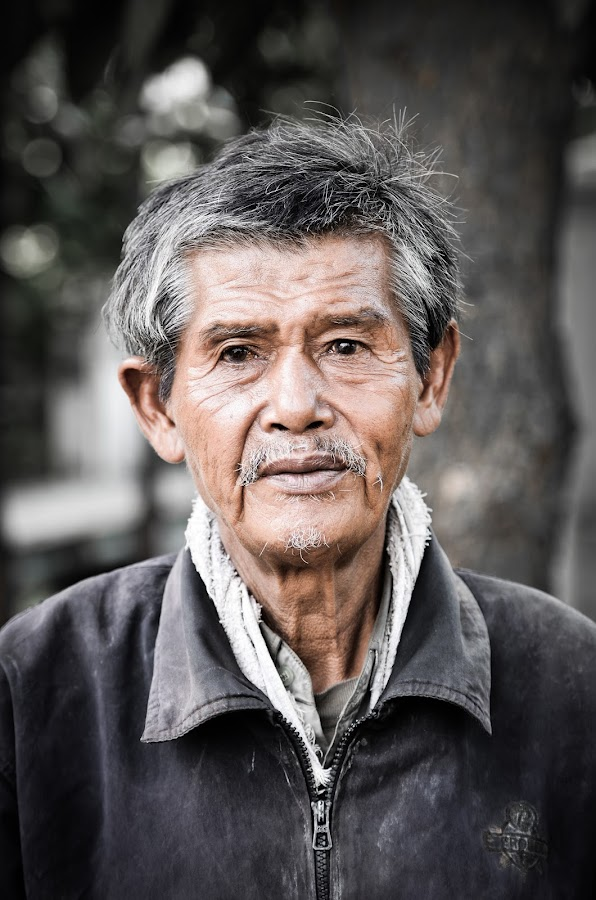 Old Man by Jacky S - People Portraits of Men