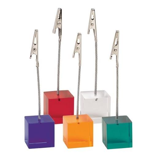 Cube Memo Clips for Branding