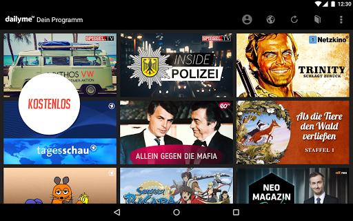 dailyme TV, Serien, Filme & Fernsehen TV Mediathek 20.05.02 screenshots 10