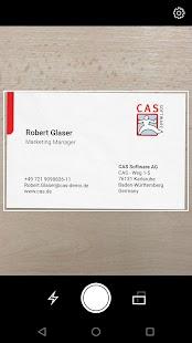 CAS CardScanner - náhled