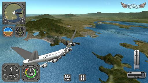 Flight Simulator 2013 FlyWings - Rio de Janeiro apktram screenshots 5