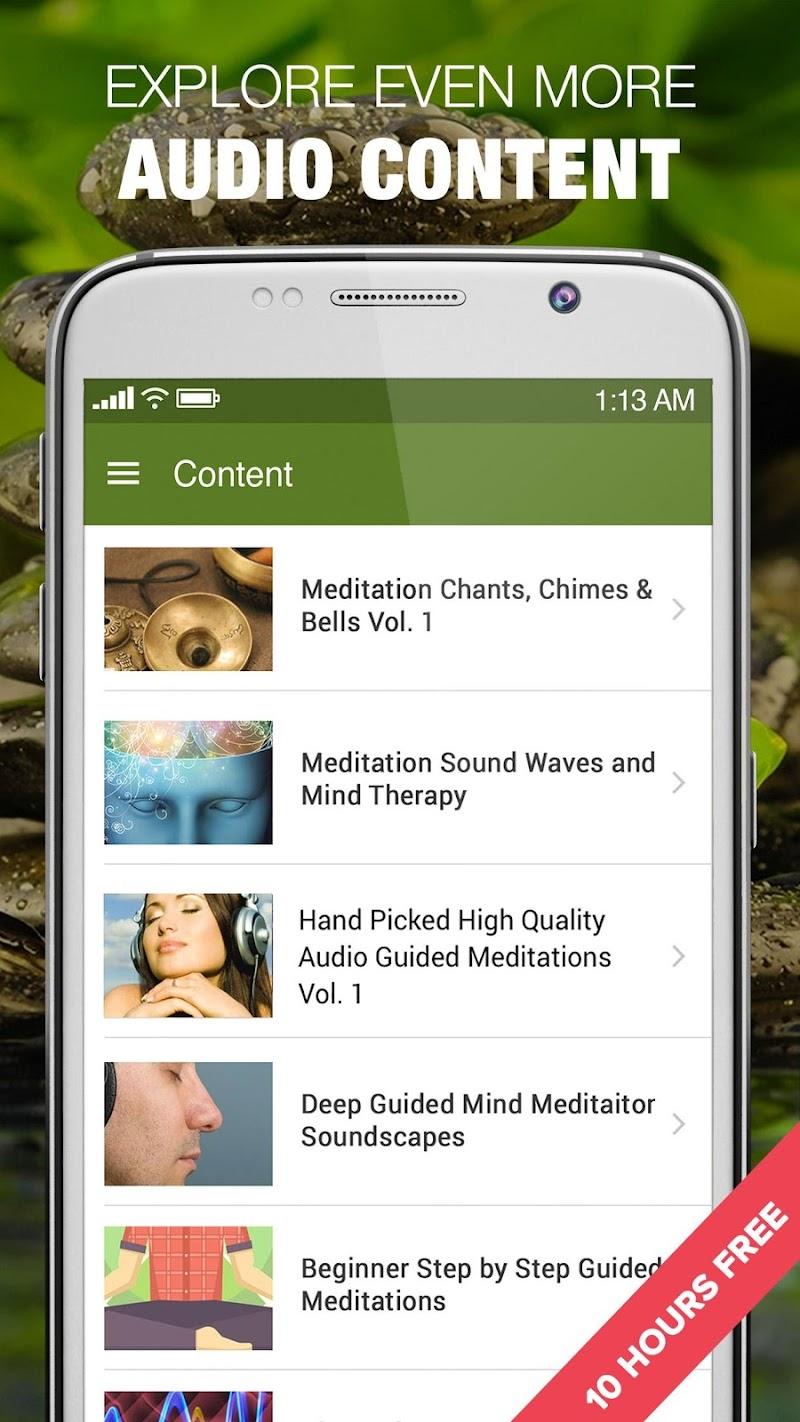 1000 Nature Sleep Relax Sounds Screenshot 3