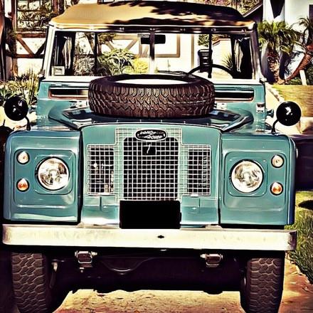 "Land Rover IIA ""Sunset Cruise"" Hire San Diego"