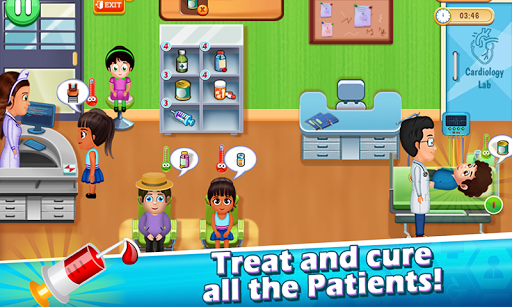 Doctor Game : Hospital Surgery & Operation Game  captures d'écran 2