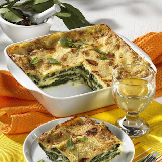 Spinach and Sage Lasagne