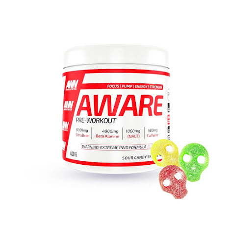 Aware Nutrition PWO 400g - Sour Candy Skulls