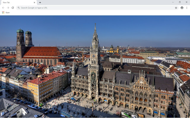 Munich New Tab & Wallpapers Collection