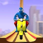 Tải Game Super Hero Bike Mega Ramp