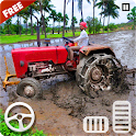 Village Tractor Driver 3D Farming Game icon