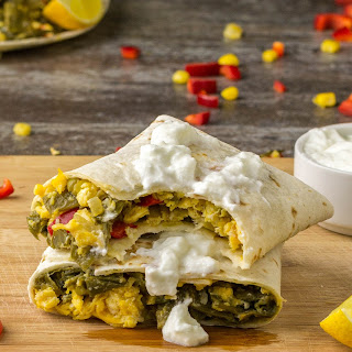 Egg & Green Beans Wrap