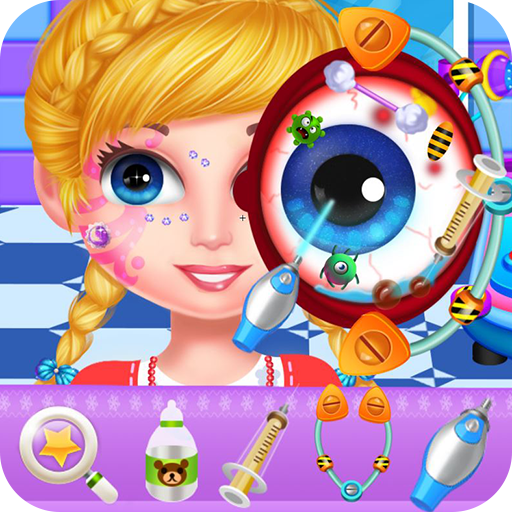 Crazy eyes doctor Icon