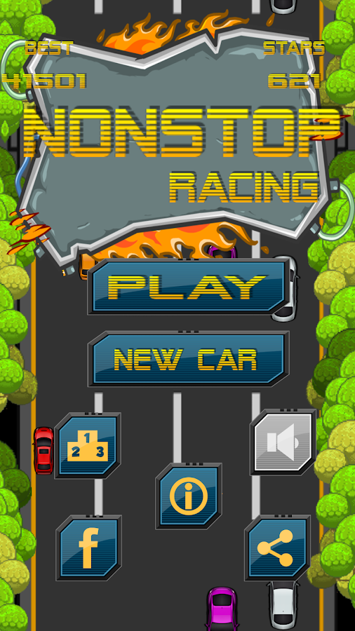 Nonstop Racing- screenshot