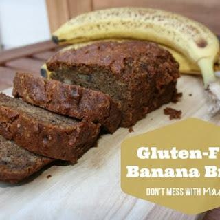Easy Gluten Free Banana Bread