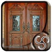 Modern Wooden Carving Door