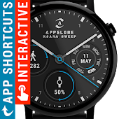🕐 Ksana Sweep Watch Face for Wear OS