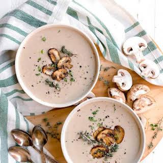 Dairy Free Cream of Mushroom Soup.