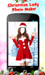 Christmas Lady Photo Maker New screenshot 1