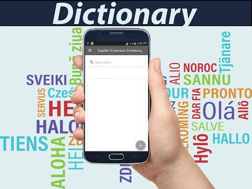 English To German Dictionary 1.6 screenshots 8