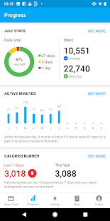 Runtastic Steps - Step Tracker & Pedometer Screenshot