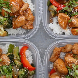 1. Chicken and Veggie Teriyaki Stir-Fry Bowl