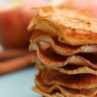 Baked Cinnamon & Sugar Apple Slices.