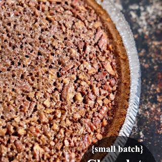 Chocolate Pecan Chess Pie {Small Batch Thanksgiving}