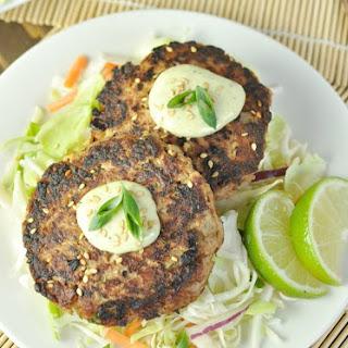 Asian Tuna Cakes - Paleo, Low Carb, Gluten Free.