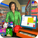 Virtual Supermarket Grocery Cashier 3D Family Game icon