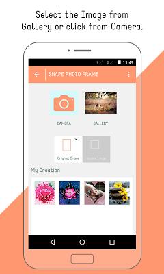Shapes Photo Frames - screenshot