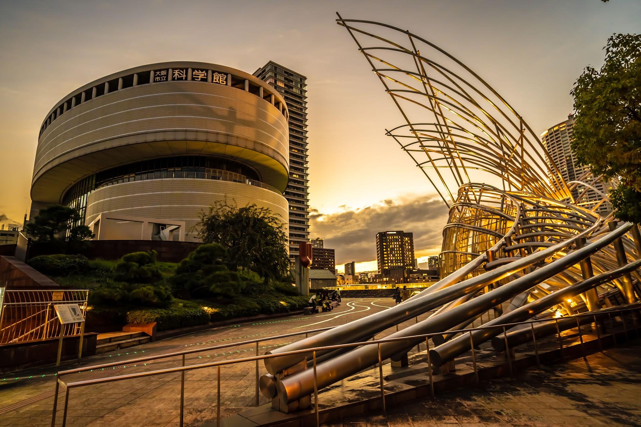 The National Museum of Art, Osaka light-up1