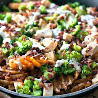 Loaded Broccoli Cheese Fries