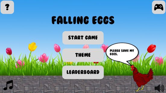 Save Falling Eggs - náhled