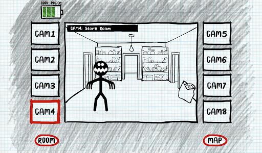 玩免費動作APP|下載Stickman Five Nights Survival app不用錢|硬是要APP