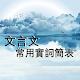文言文常用實詞簡表 Download for PC Windows 10/8/7