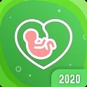 My pregnancy calendar app: baby countdown timer icon