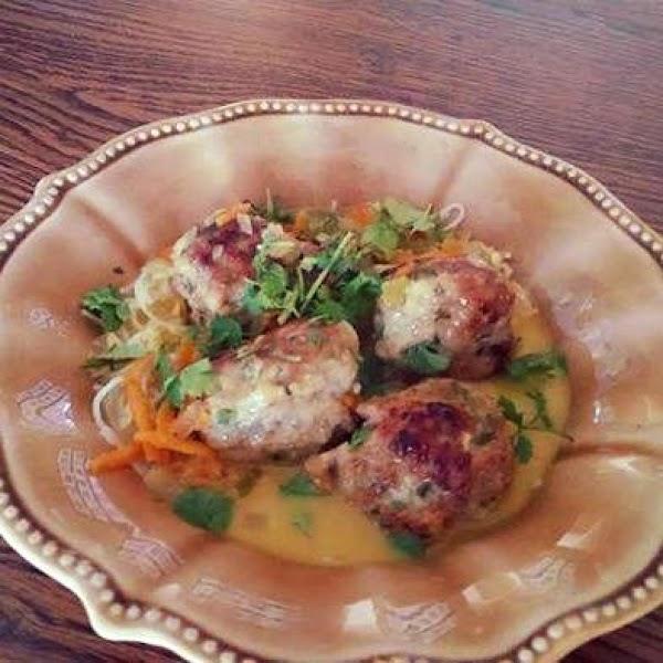Shrimp And Pork Meatball Curry Recipe