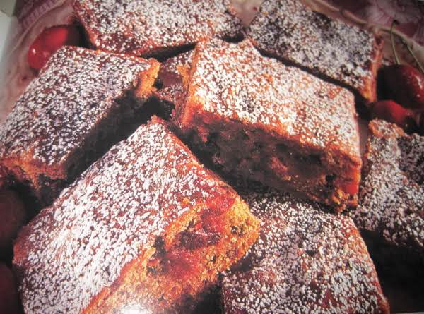 Cherry Cordial Chocolate Chip Bars By Rr