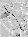 Photo: Harta cu fostul canal al Morii - (in anii 50) sursa R.C