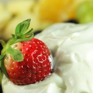 Grand Marnier & Spiced Rum Fruit Dip