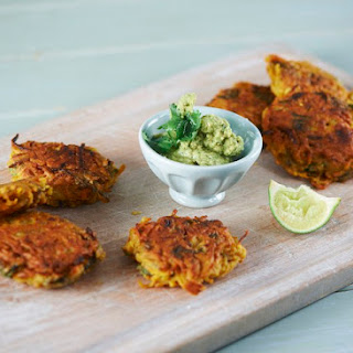 Sweet Potato & Spinach Bhaji