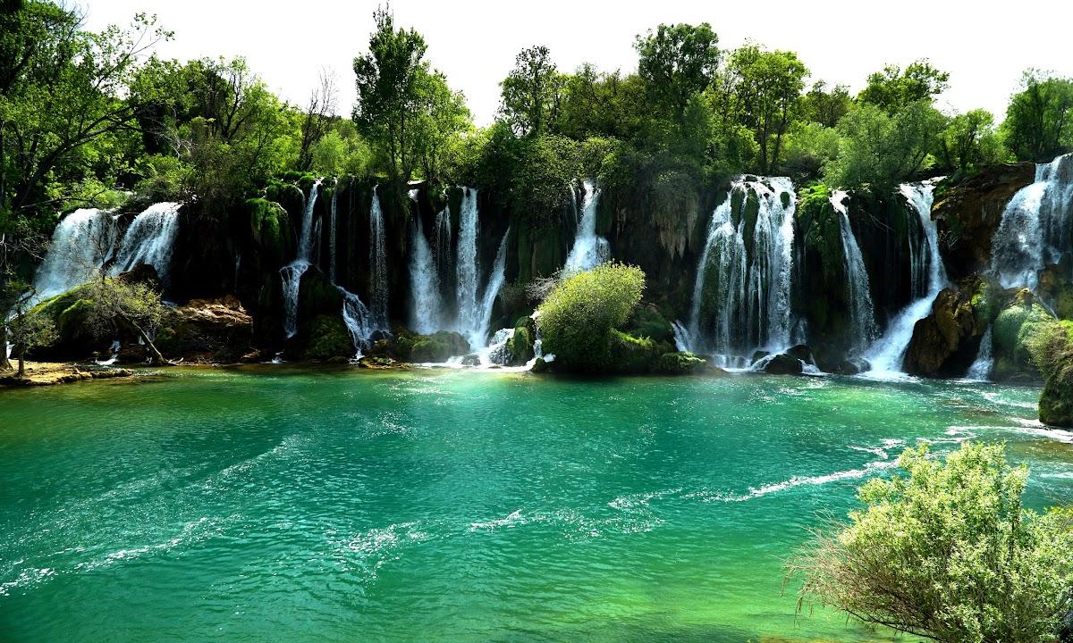 Wodospady w Kravica, Bośnia i Hercegowina