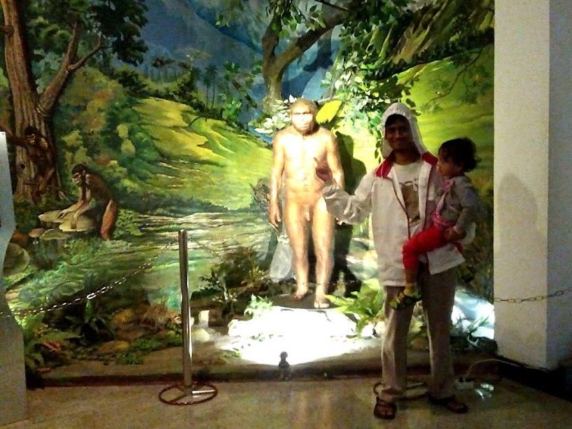 Patung dan lukisan manusia purba