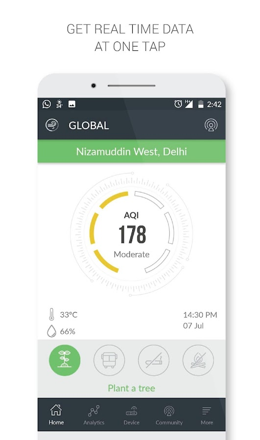 Air Quality India- screenshot