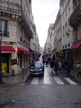Photo: The central street, the Rue St-Louis-en-L'Ile, is the shopping area for the island.