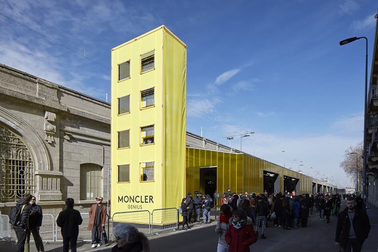 moncler genius public opening