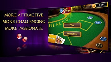 Screenshot of AE Blackjack