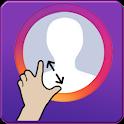 insfull - Big Profile Photo Picture for instagram icon