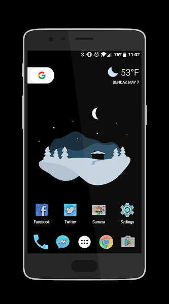 ViviBurst – Vivid Icon Pack v1.9