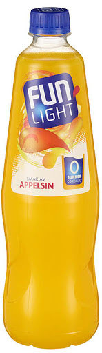 Fun Light Appelsin 0,8 l