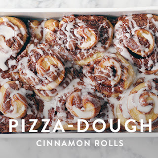 Pizza-Dough Cinnamon Rolls